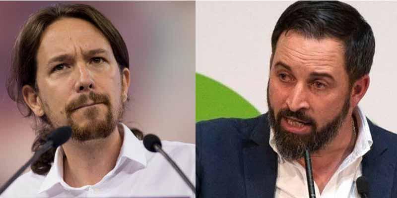 VOX adelanta a Podemos, que cae a 30 diputados y ya es sólo es quinta fuerza