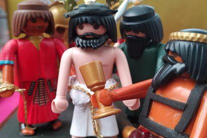 La Semana Santa representada con Playmobil