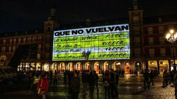 Podemos y la Plaza Mayor: la extrema izquierda regresa a las viejas técnicas de propaganda denigratoria