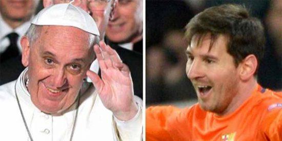 "Papa Francisco: ""Yo no creo que sea un sacrilegio llamar Dios a Messi"""