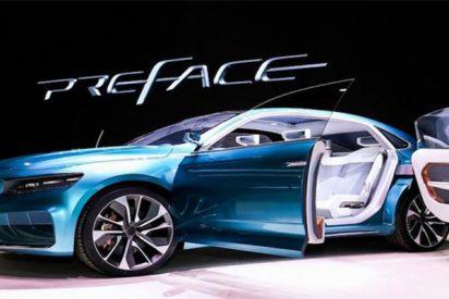 Así es Preface Concept, un deportivo eléctrico que te deslumbrará