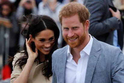 El príncipe Harry se enfrenta con el hombre para defender a Meghan Markle