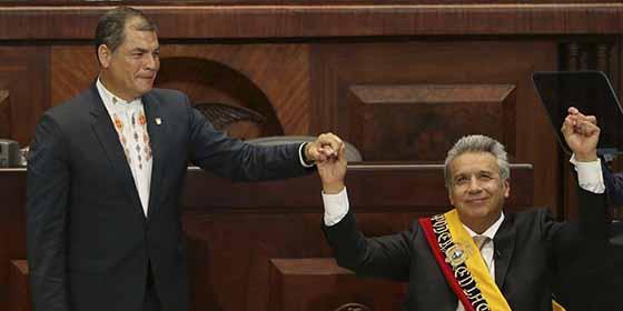 """Por qué el arresto de Assange supone el """"quiebre final"""" de Lenin Moreno con lo que quedaba de Rafael Correa"""