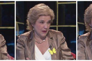 """Buenafuente hace de oro a Pilar Rahola para que reparta DNI catalanes: """"Valls no es catalán, es un francés que se cree que viene a salvarnos"""""""