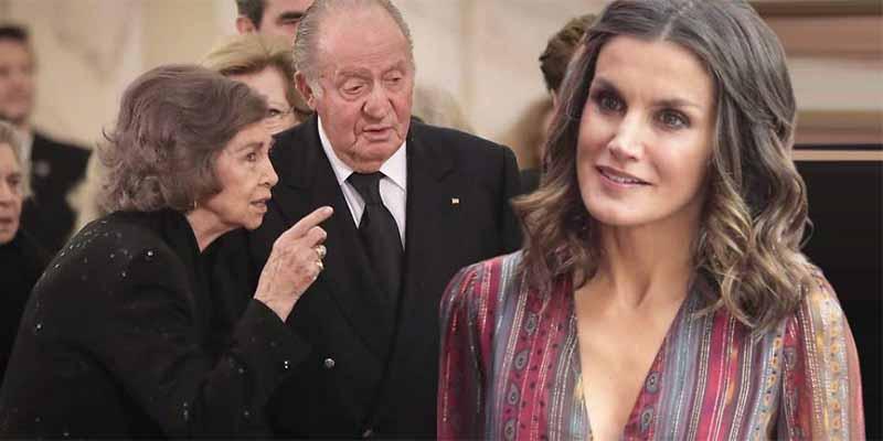 ¡Bombazo!: Don Juan Carlos y Doña Sofía rompen relaciones con la Reina Letizia