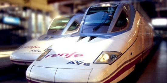 """El PSOE finiquita los dos trenes AVE de Castilla y León hacia Madrid y """"se queda tan ancho"""""""