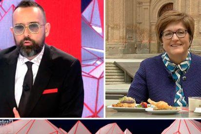 La alcaldesa de Alfaro no descarta quemar como 'judas' a Risto Mejide el próximo año