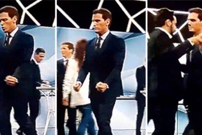 """El 'deportivo' gesto de Rivera a lo futbolista nada más acabar el debate: """"¡Vamos!"""""""