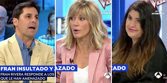 Estocazo de Fran Rivera a Griso y Lucía Etxebarria por intentar comparar su amor por España con los golpistas