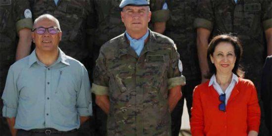 La ministra de Defensa prohíbe que la bandera ondee a media asta en señal de luto por la muerte de Cristo