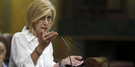 """En el nuevo Congreso faltan Rosa Díez y sus soberbios palos al nuevo panorama: """"La foto es tenebrosa"""""""