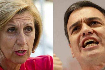 Rosa Díez acusa a Pedro Sánchez de liderar el 'fascismo rojo' en España y de ser 'mentiroso y chapucero'