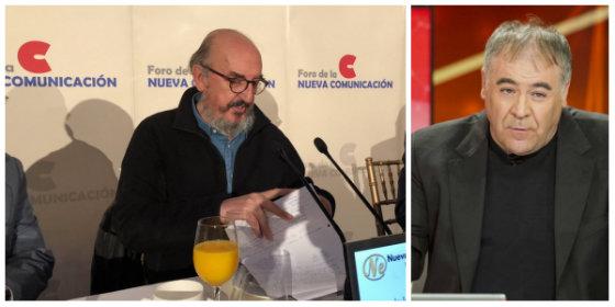 "El independentista Roures lloriquea porque Ferreras compró el primer titular que leyó en Internet: ""No contrastó lo que dije de él"""