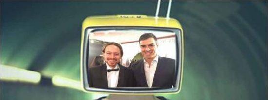 Pablo Iglesias despotrica ahora contra 'Tele PSOE' y el dedazo de Sánchez que hace a Enric Hernández nuevo director de Informativos de TVE