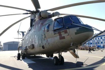 La fábrica rusa que abastece a Venezuela crea el helicóptero militar más grande del mundo