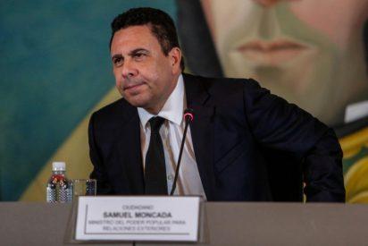 El lloriqueo del embajador chavista Samuel Moncada a EEUU por limitar su visa