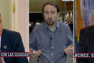 Ferreras se pone detrás de Sánchez para empujarle hacia su nuevo enemigo Iglesias, pero el Presidente también es un flan