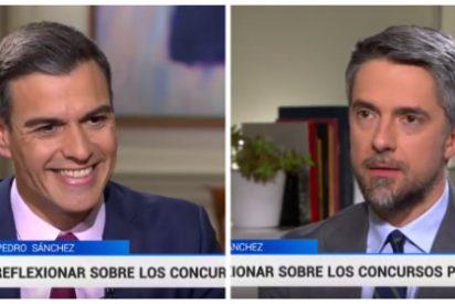 El vídeo que deja a Sánchez como 'La Chata' tras hacerle la pedorreta electoral a la TVE de la 'soviética' Mateo