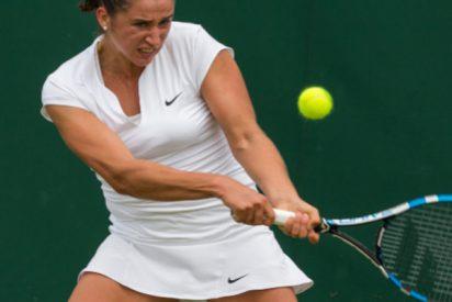 """Entrenador suelta tremendo broncazo a la tenista Sara Sorribes (""""¿Me pongo la faldita y juego yo?"""") y ella le aplaude"""