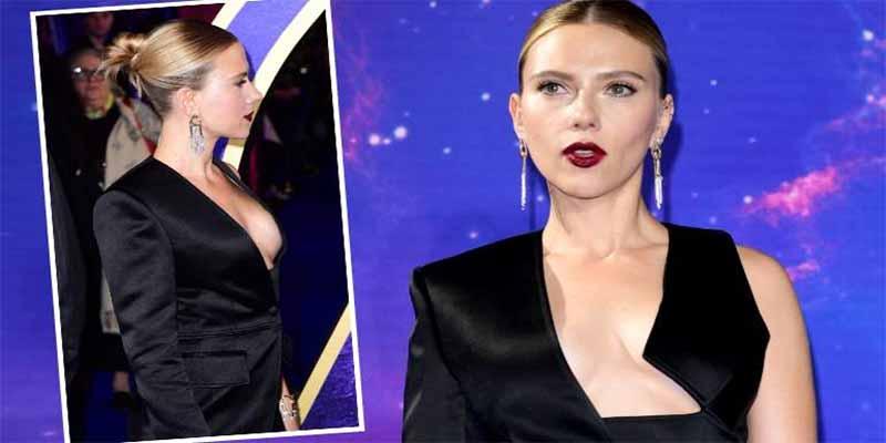 Scarlett Johansson luce un escote vengador en la presentación de 'Avengers: End Game'