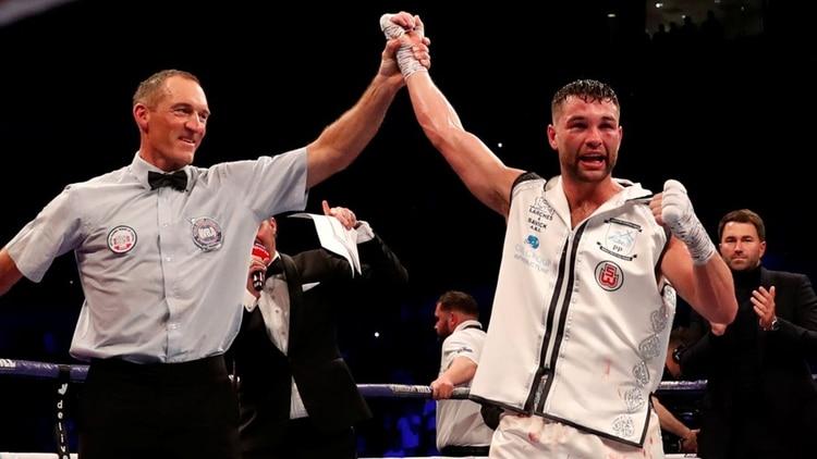 Foto: Así queda el rostro de un boxeador después de una dura pelea