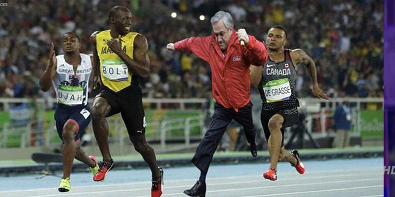Sebastián Piñera publica este meme de Usain Bolt y éste lo viraliza en Twitter