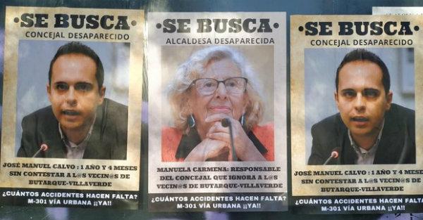 ¿Dónde está 'Wally' Carmena?: Los vecinos de Villaverde, hartos del abandono de la alcaldesa