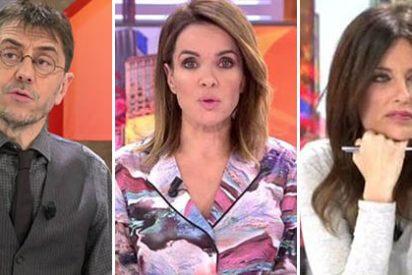"""Cristina Seguí apalea a Monedero describiéndole como """"gentuza y groupie de ETA"""" y Carme Chaparro se pone histérica"""