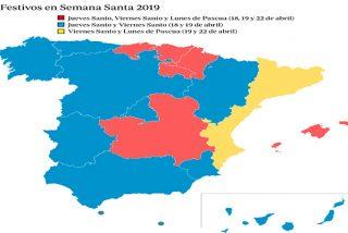 España: ¿Sabes dónde es festivo este Lunes de Pascua de 2019?