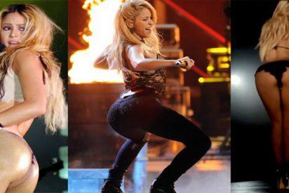 """Los ajustados leggins de Shakira para """"quemar calorías"""" al estilo JLo"""