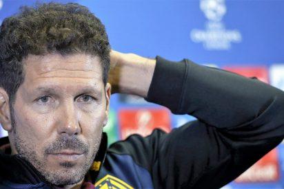 """Diego Simeone: """"Si Costa lo dijo, está bien expulsado, pero no siempre es igual"""""""