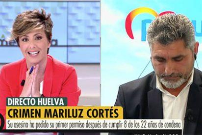 """Juan José Cortés se desmorona en Telecinco al saber que el asesino de Mariluz podría salir de la cárcel: """"No esperaba ponerme así"""""""