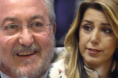 Susana Díaz escondió el contrato fantasma del ex ministro Bernat Soria en la Junta y por el que aún cobra 150.000 euros