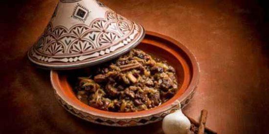 Tajine de cordero a la marroquí