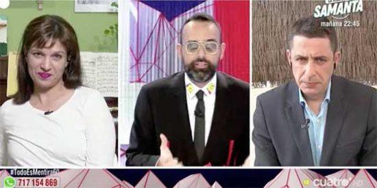 Talegón, la que compra todos los bulos, da lecciones de periodismo a los medios de comunicación en el programa de Risto y de propina, ataca a PD