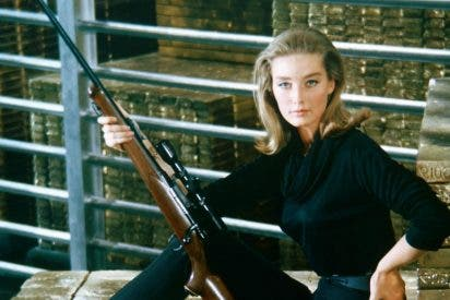 """Muere la """"chica Bond"""": Tania Mallet fue la bella actriz que trabajó con Sean Connery en Goldfinger"""