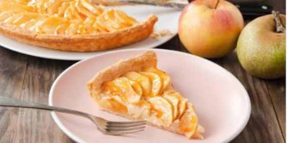 tarta de manzana hojaldre