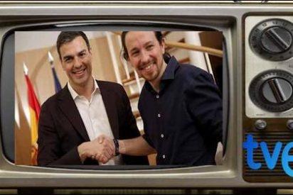 Casado, Iglesias y Rivera acusan a la TVE 'soviética' actua al servicio de Sánchez y no irán a su debate