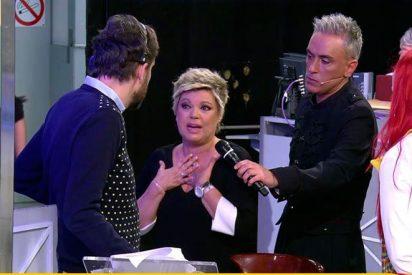 Lo que no se vio del abandono de Terelu Campos de 'Sálvame' y que demuestra que Kiko Hernández no sirve como presentador