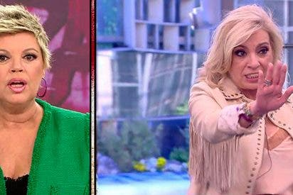 "Carmen Borrego manda ""¡A tomar por c***!"" a su hermana Terelu en directo"
