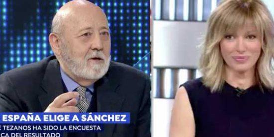 """Susanna Griso se suma al éxtasis socialista y hasta pide un ministerio para Tezanos: """"¿Masterchef? Se merece una estrella Michelín"""""""