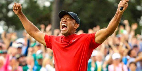 Tiger Woods retorna del abismo y gana su quinta chaqueta verde en el Masters de Augusta