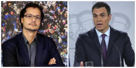 Soberbio repaso de Torreblanca a Sánchez por buscar encamarse con los mismos socios golpistas que le forzaron al adelanto electoral