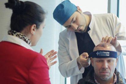 Trasplante capilar en Turquía con anestesia sin dolor