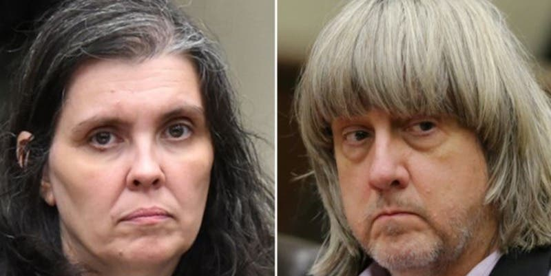 Condenan a cadena perpetua a los Turpin, los padres del terror que torturaban a sus 13 hijos