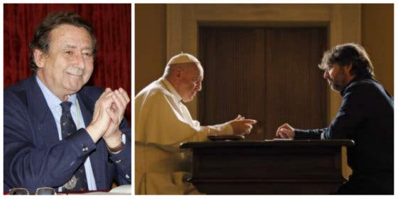 Alfonso Ussía le mete dos buenas hostias nada consagradas al Papa Francisco por su último desprecio a España