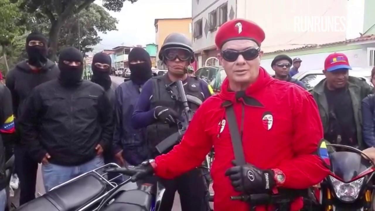 """Principal jefe paramilitar chavista: """"Hay que defender a Nicolás Maduro con las armas"""""""