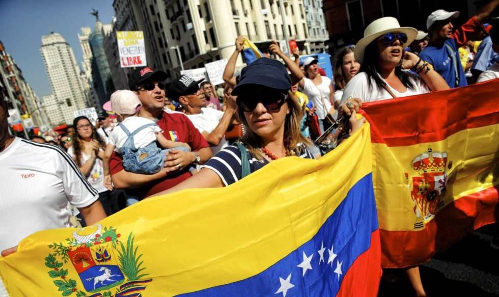 Diaspora venezolana se apodera de Madrid y se convierte en la segunda comunidad extranjera más grande
