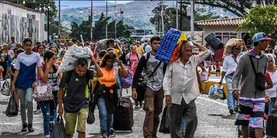 El impresionante mapa que desvela las rutas de la sufrida diaspora venezolana