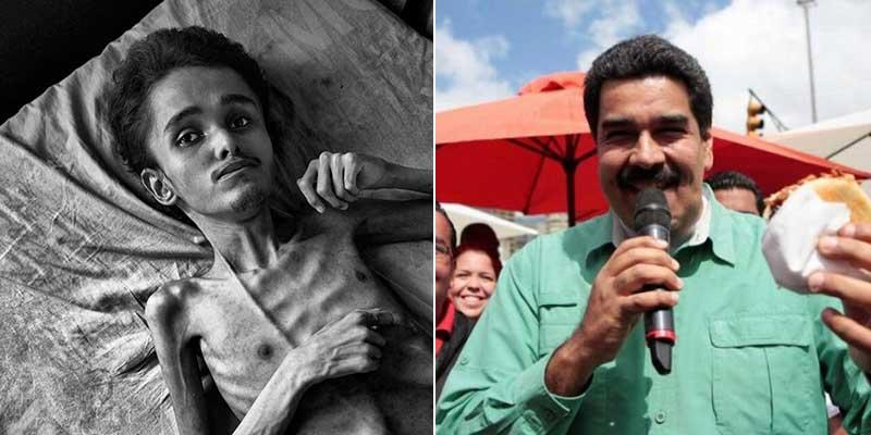 Venezuela: los datos de hambruna que derrumban la mentira de Errejón y Arantxa Tirado